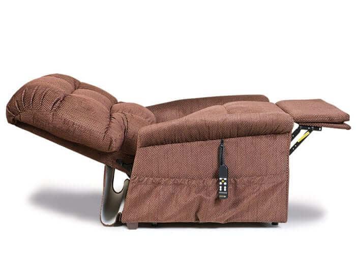 reclined lift chair