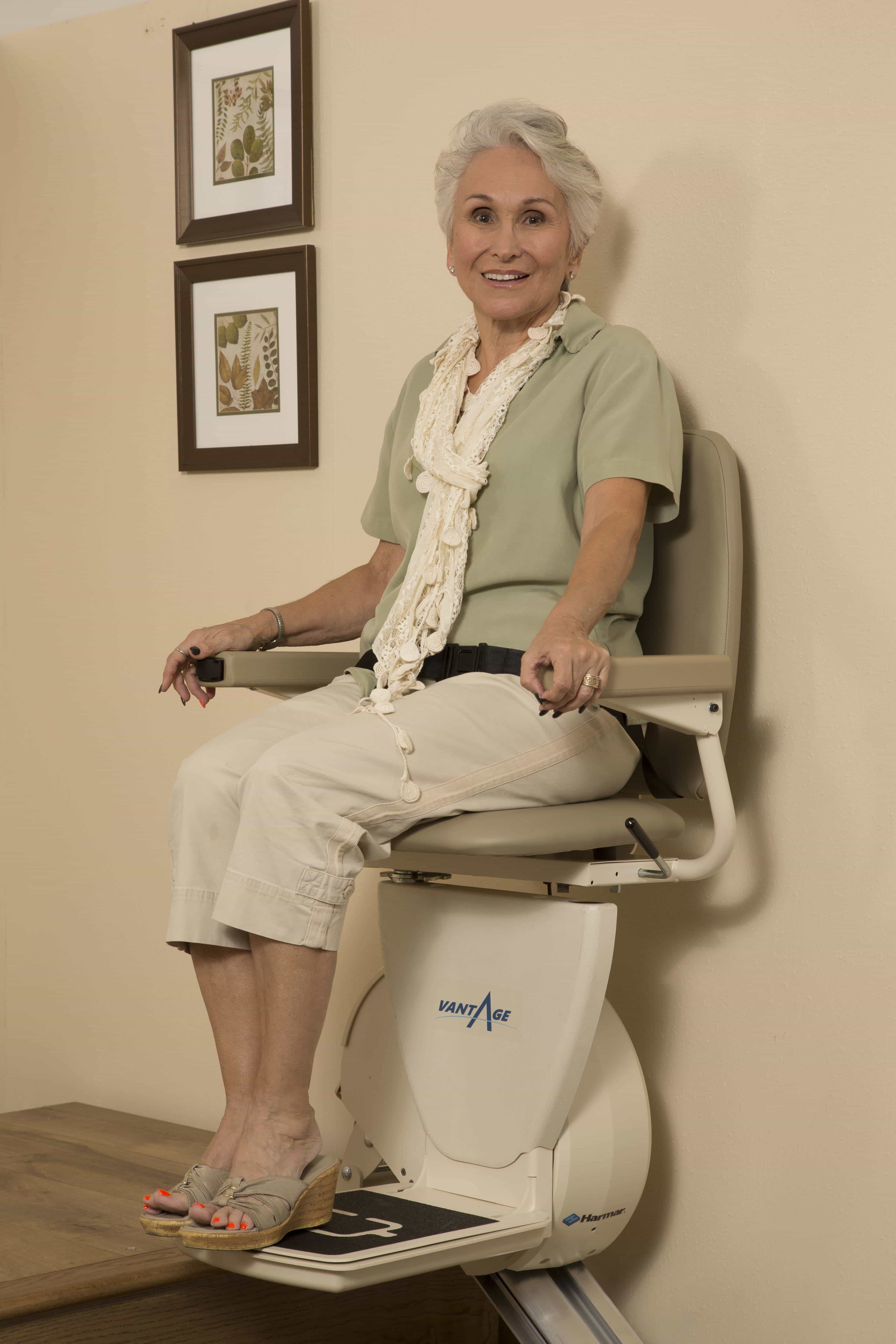 Handling life's turns with a stairlift